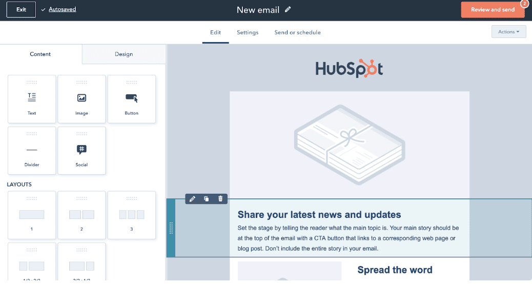 Gradient blog HubSpot free marketing tools